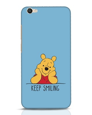 Shop Pooh Keep Smiling Vivo V5 Mobile Cover-Front