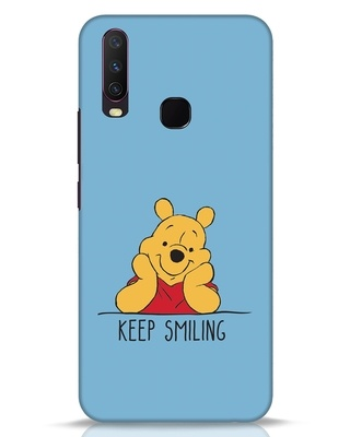 Shop Pooh Keep Smiling Vivo Y17 Mobile Cover-Front