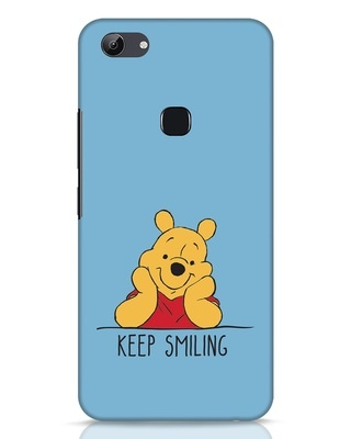 Shop Pooh Keep Smiling Vivo Y83 Mobile Cover-Front