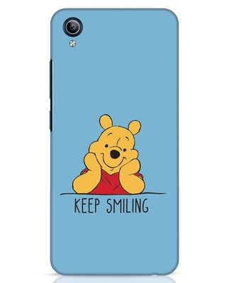 Shop Pooh Keep Smiling Vivo Y91i Mobile Cover-Front