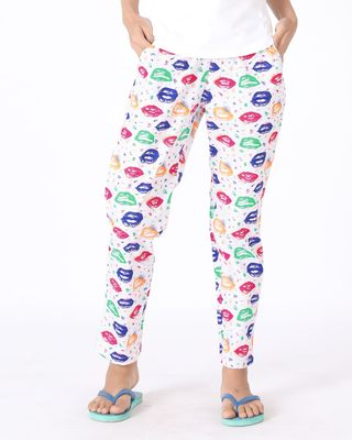 Buy Pop Art All Over Printed Pyjama Online India @ Bewakoof.com