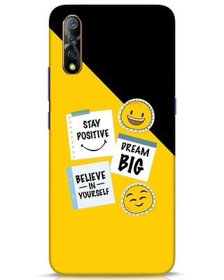 Shop Positive Stickers Vivo S1 Mobile Cover-Front