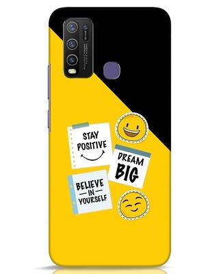 Shop Positive Stickers Vivo Y50 Mobile Cover-Front