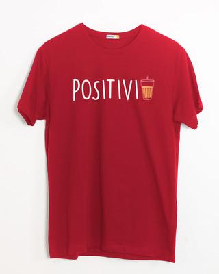 Shop Positivi-tea Half Sleeve T-Shirt-Front