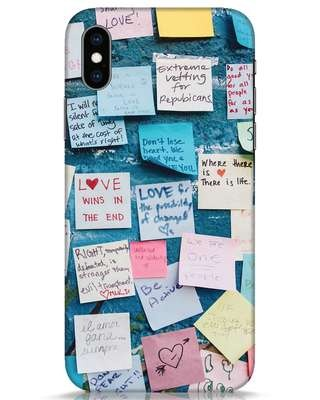 Shop Post It Up iPhone XS Mobile Cover-Front