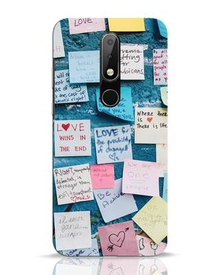 Shop Post It Up Nokia 6.1 Plus Mobile Cover-Front