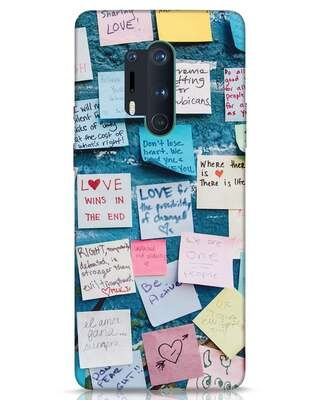Shop Post It Up OnePlus 8 Pro Mobile Cover-Front