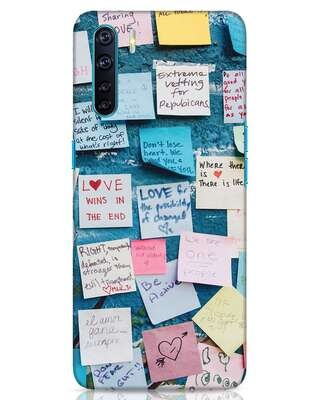 Shop Post It Up Oppo F15 Mobile Cover-Front