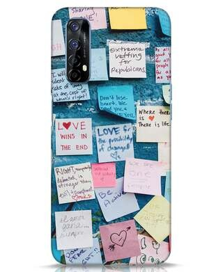 Shop Post It Up Realme 7 Mobile Cover-Front