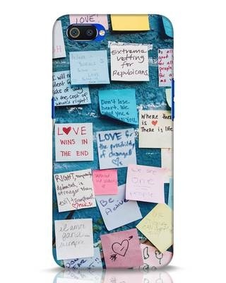 Shop Post It Up Realme C2 Mobile Cover-Front