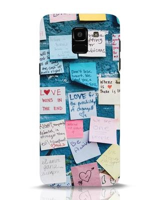 Shop Post It Up Samsung Galaxy J6 Mobile Cover-Front