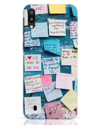 Shop Post It Up Samsung Galaxy M10 Mobile Cover-Front