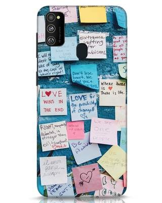 Shop Post It Up Samsung Galaxy M30s Mobile Cover-Front