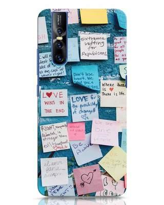Shop Post It Up Vivo V15 Pro Mobile Cover-Front