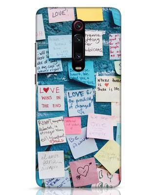 Shop Post It Up Xiaomi Redmi K20 Pro Mobile Cover-Front