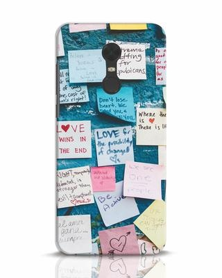 Shop Post It Up Xiaomi Redmi Note 5 Mobile Cover-Front