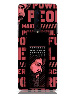 Shop Powerful Places OnePlus 8 Mobile Cover-Front