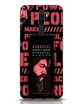 Shop Powerful Places Oppo A5 2020 Mobile Cover-Front