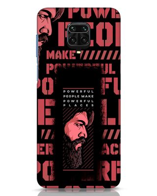 Shop Powerful Places Xiaomi Redmi Note 9 Pro Max Mobile Cover-Front