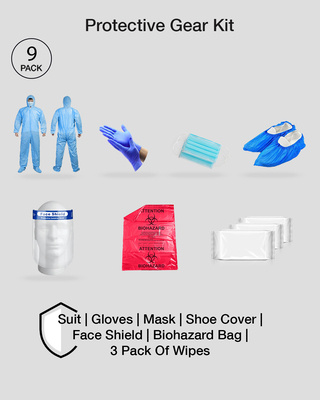 Shop Premium Protective Gear Kit-Front