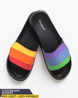 Shop Pride Lightweight Adjustable Strap Mens Slider-Front