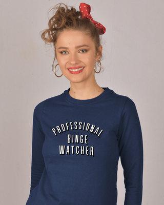 Shop Professional Binge Fleece Sweater-Front