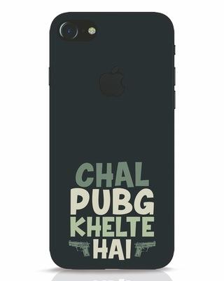 Shop Pub G iPhone 7 Logo Cut Mobile Cover-Front