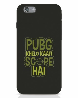 Shop Pubg Khelo iPhone 6s Mobile Cover-Front