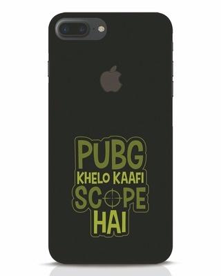 Shop Pubg Khelo iPhone 7 Plus Logo Cut Mobile Cover-Front