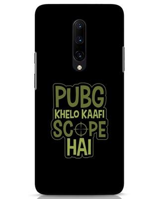 Shop Pubg Khelo OnePlus 7 Pro Mobile Cover-Front