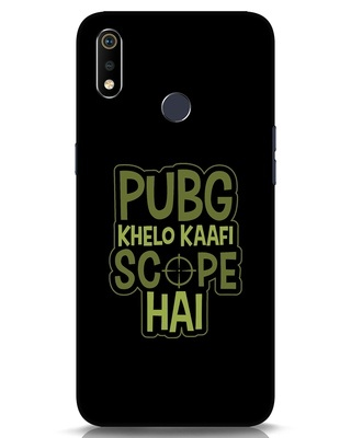 Shop Pubg Khelo Realme 3i Mobile Cover-Front