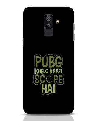 Shop Pubg Khelo Samsung Galaxy J8 Mobile Cover-Front