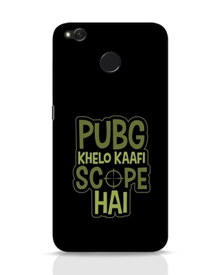 Shop Pubg Khelo Xiaomi Redmi 4 Mobile Cover-Front