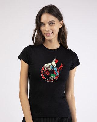 Shop Puddin Half Sleeve T-Shirt (BML)-Front