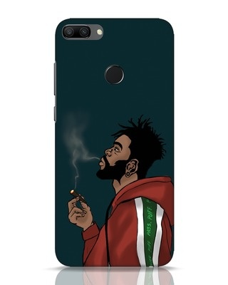 Shop Puff Puff Pass Huawei Honor 9N Mobile Cover-Front
