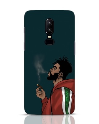 Shop Puff Puff Pass OnePlus 6 Mobile Cover-Front