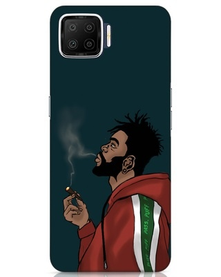 Shop Puff Puff Pass Oppo F17 Mobile Cover-Front