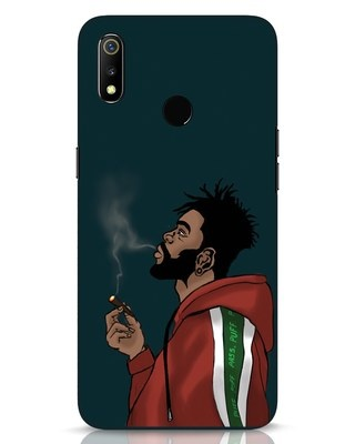 Shop Puff Puff Pass Realme 3 Mobile Cover-Front