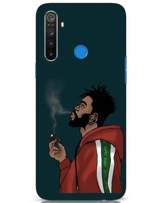 Shop Puff Puff Pass Realme 5 Mobile Cover-Front