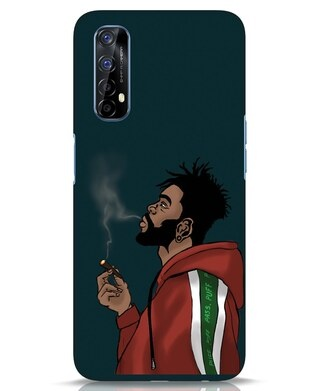Shop Puff Puff Pass Realme 7 Mobile Cover-Front