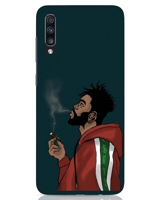 Shop Puff Puff Pass Samsung Galaxy A70 Mobile Cover-Front