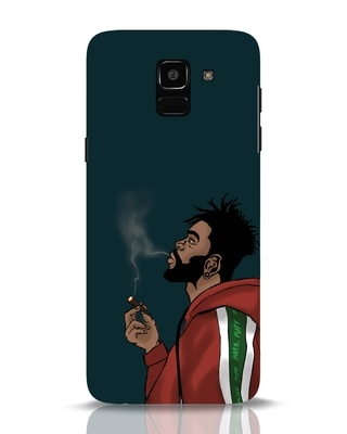 Shop Puff Puff Pass Samsung Galaxy J6 Mobile Cover-Front
