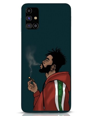 Shop Puff Puff Pass Samsung Galaxy M31s Mobile Cover-Front