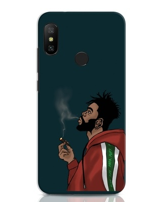Shop Puff Puff Pass Xiaomi Redmi Note 6 Pro Mobile Cover-Front