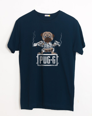 Buy Pug G Half Sleeve T-Shirt Online India @ Bewakoof.com