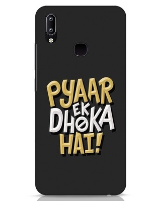 Shop Pyaar Ek Dhoka Hai Vivo Y91 Mobile Cover-Front