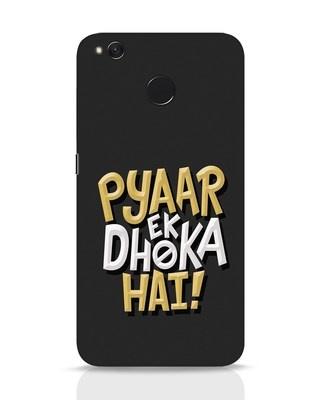 Shop Pyaar Ek Dhoka Hai Xiaomi Redmi 4 Mobile Cover-Front