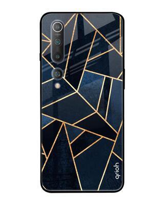 Shop Qrioh Xiaomi Mi 10 Abstract Tiles Glass Case-Front