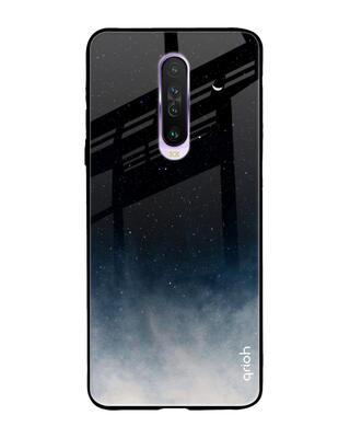 Shop Qrioh Xiaomi Redmi K30 Black Aura Glass Case-Front