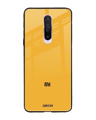 Shop Qrioh Xiaomi Redmi K30 Fluorescent Yellow Glass case-Front